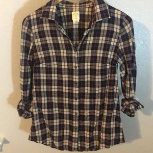 J Crew The Perfect Shirt Women's size 2 in Plaid